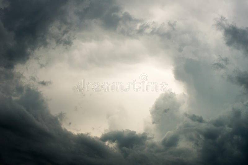 Rain Storm, Weather, Stormy Sky stock images