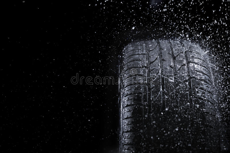 Download Rain Tire Royalty Free Stock Images - Image: 24613839
