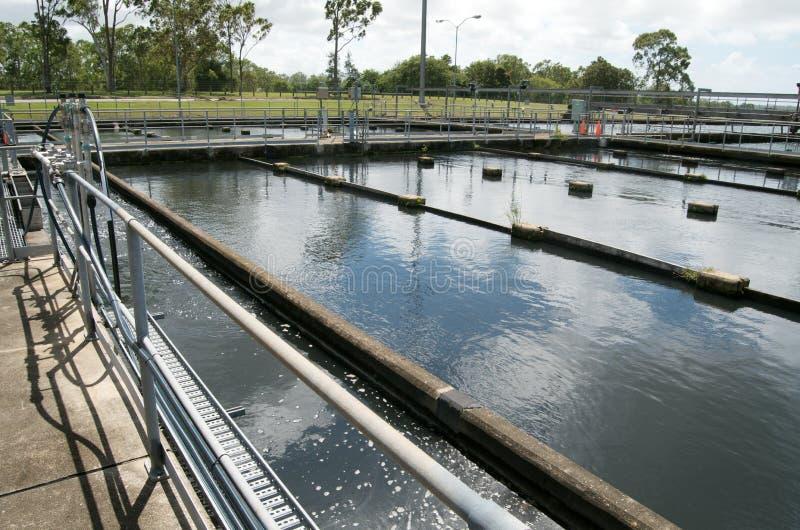 Rain Water Treatment Plant royalty free stock image