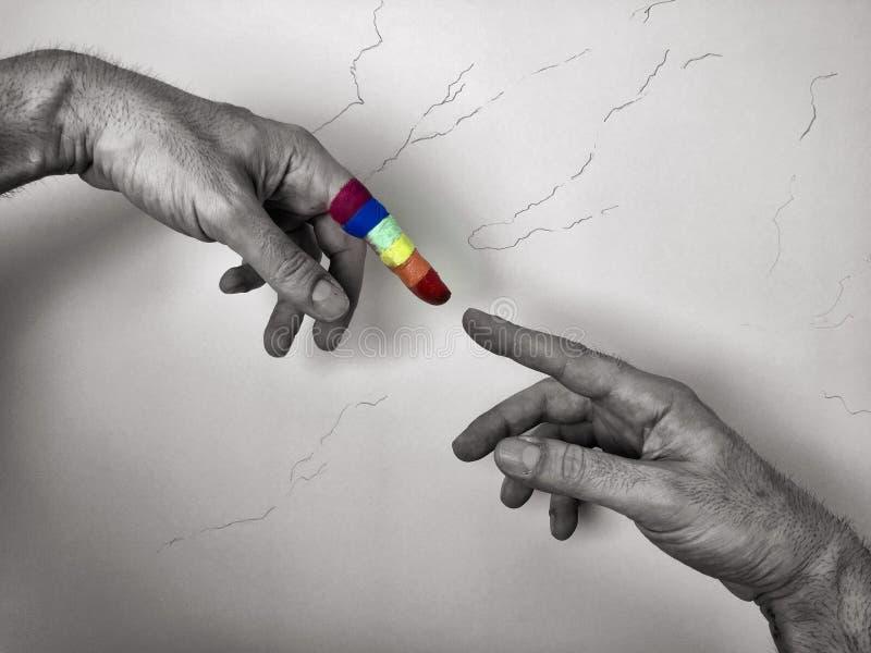 Rainbow immagini stock