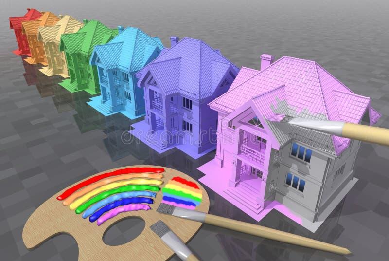 Rainbow. stock illustration