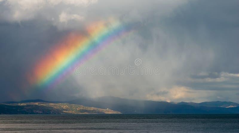 Rainbow royalty free stock photography