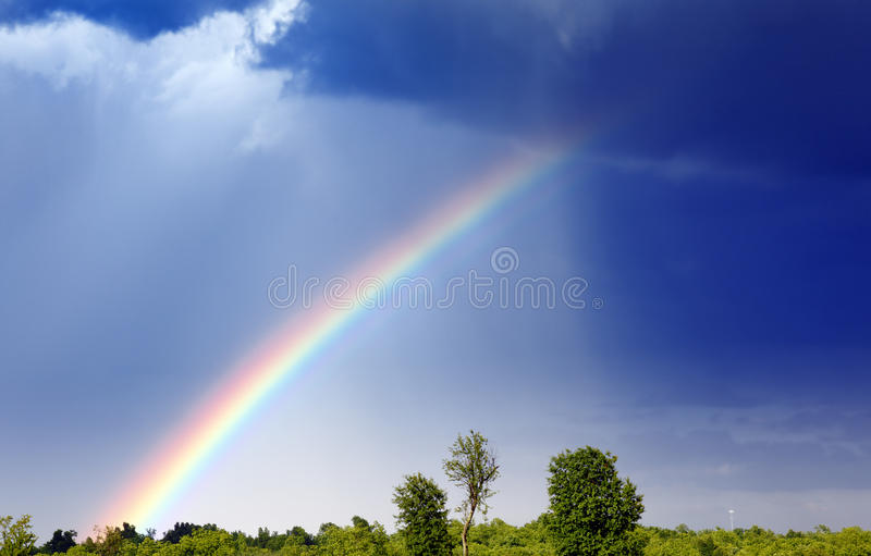 Download Rainbow stock image. Image of scenery, colorful, weather - 20415333