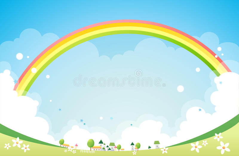 Rainbow royalty illustrazione gratis