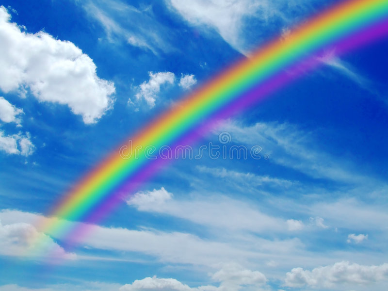 Rainbow immagine stock libera da diritti