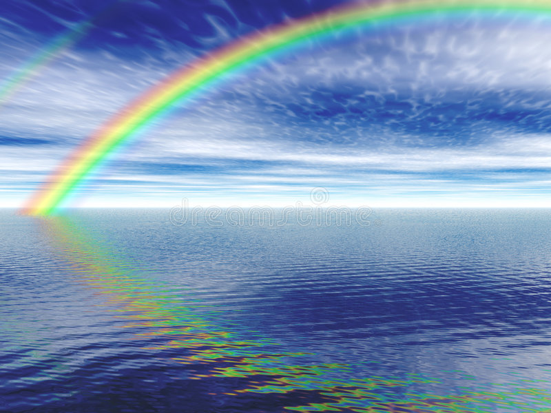 Download Rainbow Royalty Free Stock Photo - Image: 551125