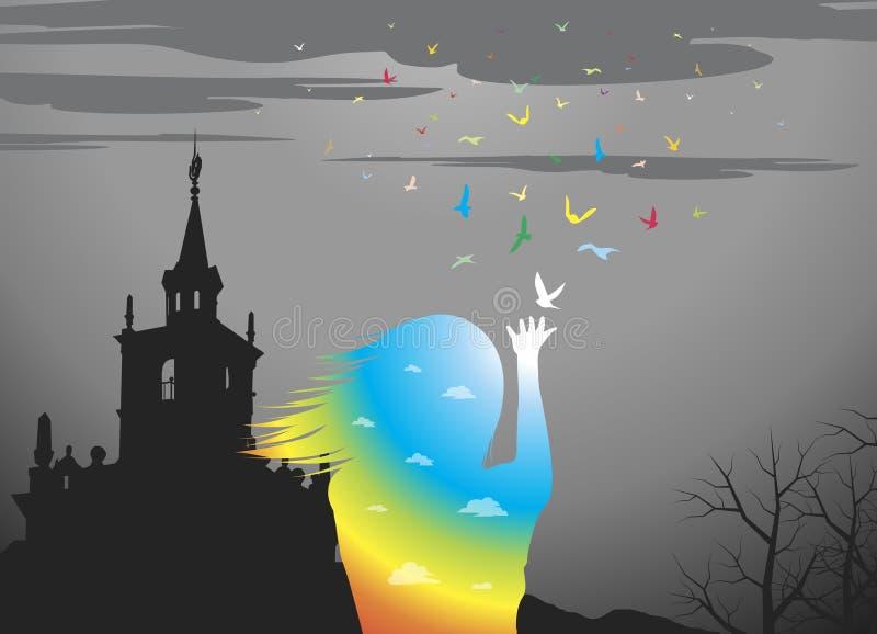 Rainbow royalty illustrazione gratis