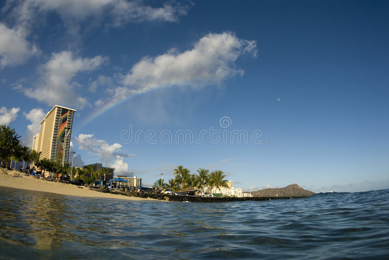 Download Rainbow stock photo. Image of tropical, water, skies, sunny - 6498596