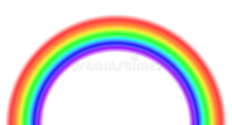 Download Rainbow stock illustration. Image of diffraction, weather - 8113567