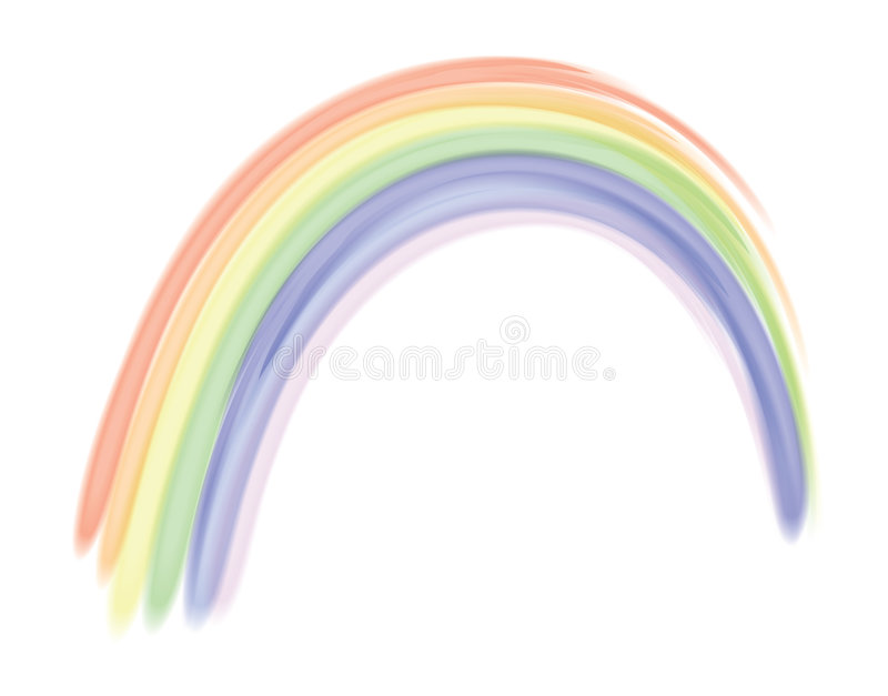 Rainbow illustrazione di stock