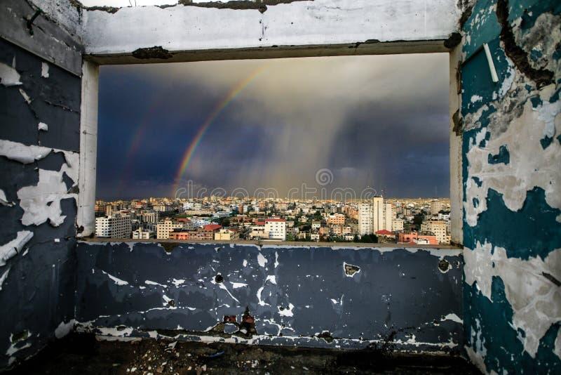 rainbow fotografia stock libera da diritti