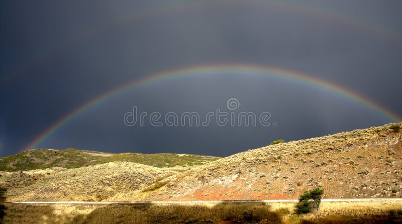 Rainbow fotografia stock
