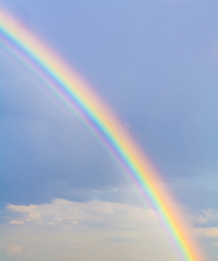 Rainbow stock photo