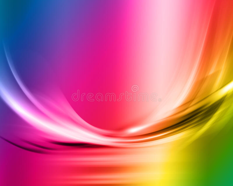 Rainbow abstract royalty free illustration