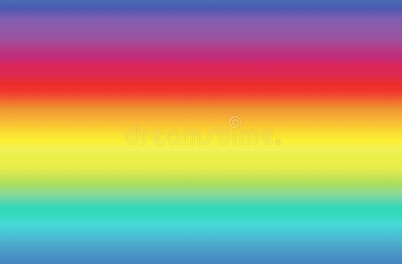 Rainbow abstract background. Illustration design style. Blurred, colors, graphic, wallpaper, concept, art, fabric, screen, theme, pattern, print, backdrop royalty free stock photos