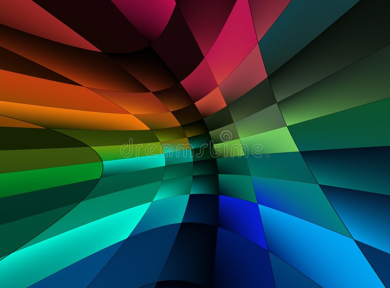 Rainbow abstraction background vector illustration