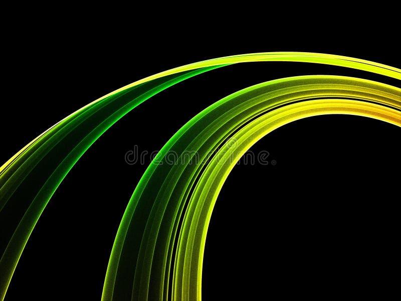Rainbow astratto illustrazione di stock