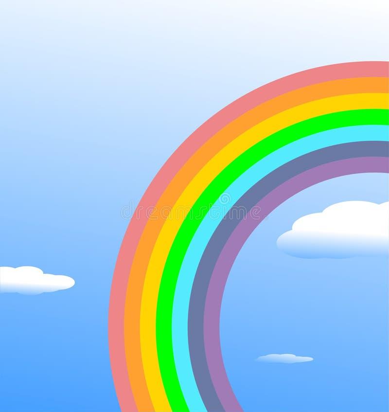 Rainbow background. Color vector illustration vector illustration