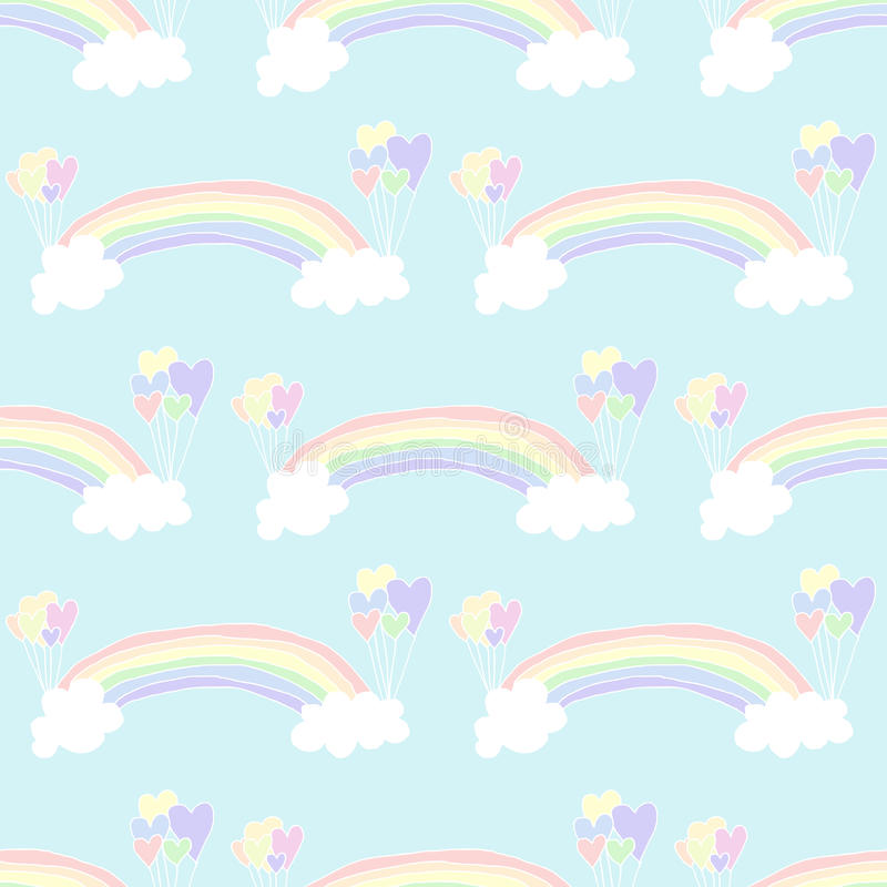 Download Rainbow Background stock vector. Illustration of card - 32879685