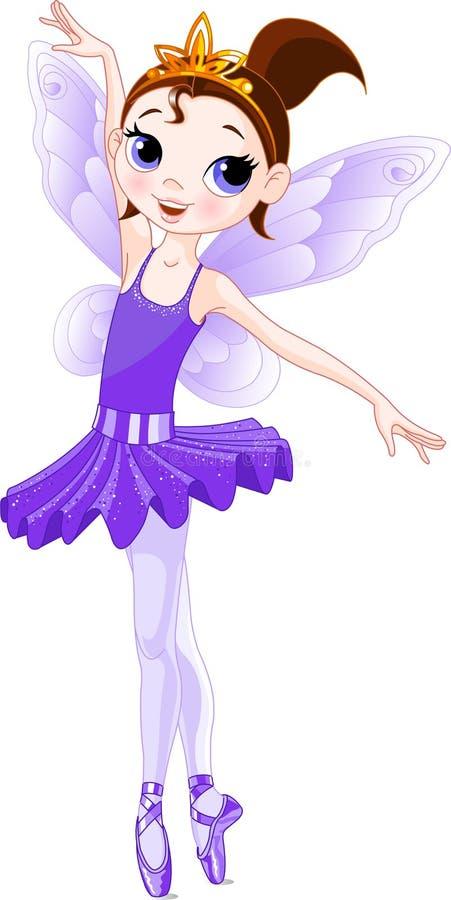 Download (Rainbow Ballerinas Series). Violet Ballerina Stock Vector - Illustration of beautiful, young: 13030193