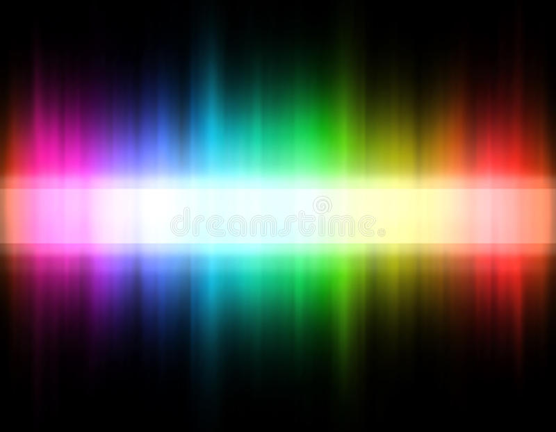 Download Rainbow band stock vector. Illustration of light, stripe - 20198380