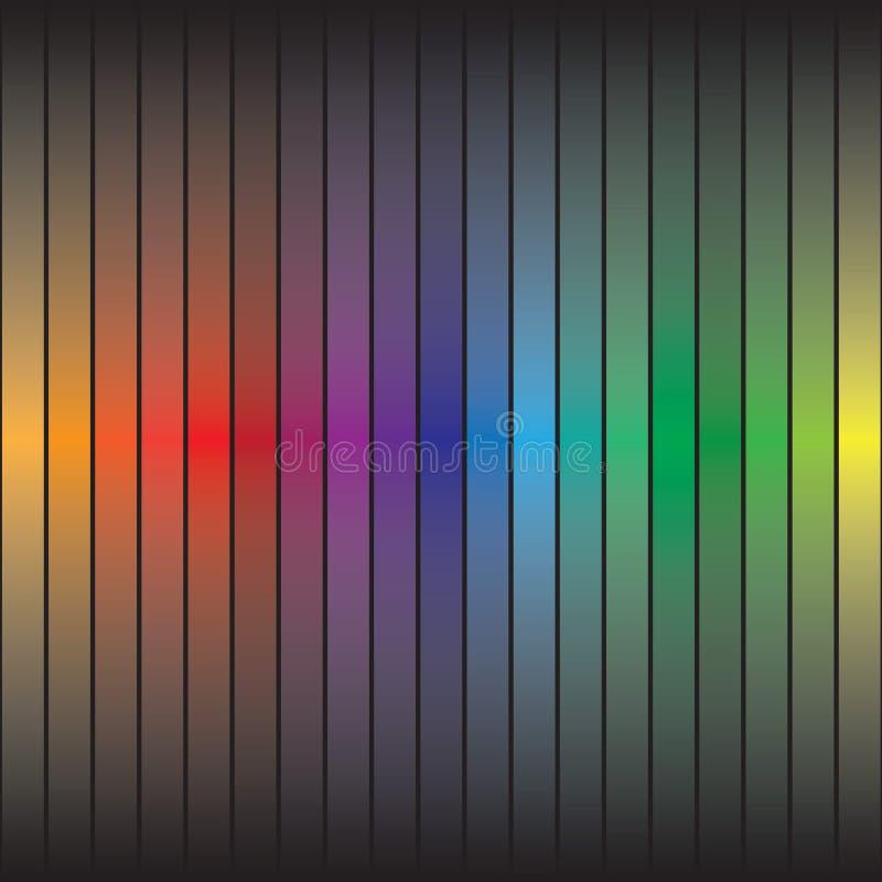 Rainbow Bars stock photo