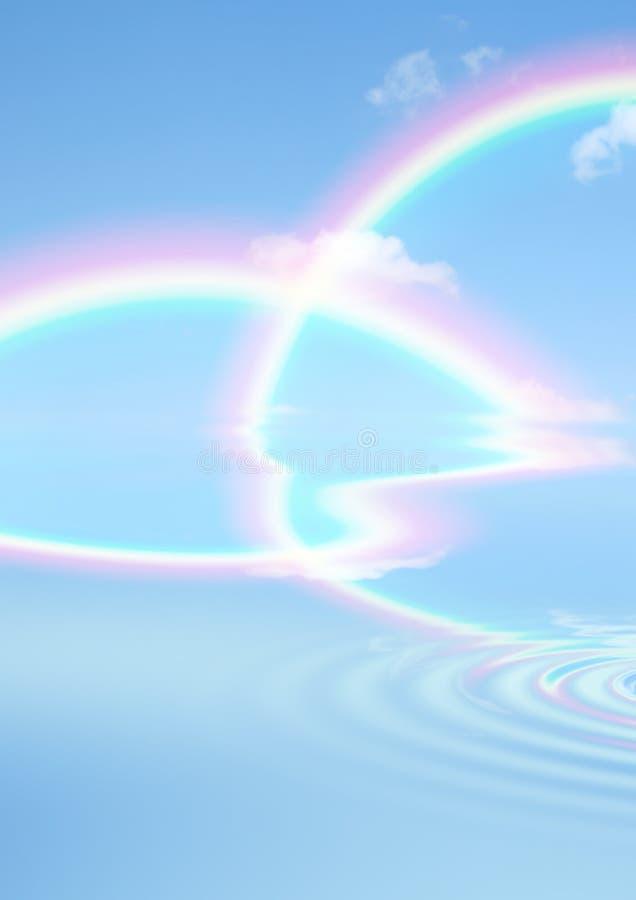 Rainbow Beauty vector illustration