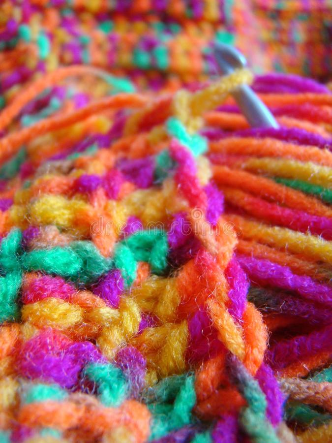 Rainbow Blanket Stock Photos