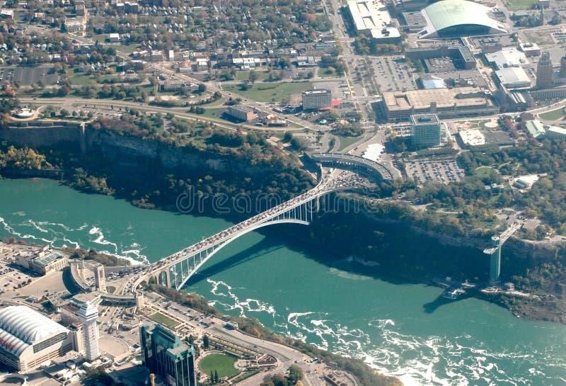 Download Rainbow Bridge Niagara Falls Stock Image - Image: 7830421