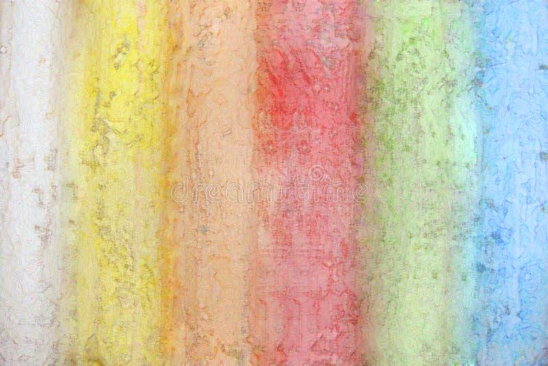 Download Rainbow from a chalk stock illustration. Illustration of artist - 13761996