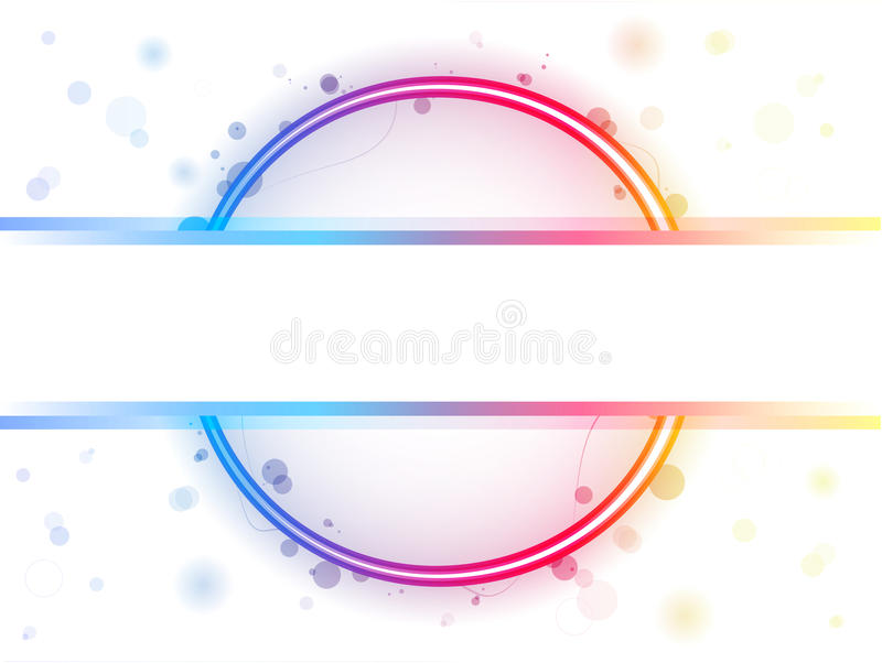 Download Rainbow Circle Border With Sparkles Stock Vector - Image: 15249468