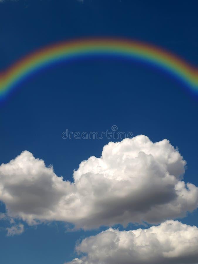 Rainbow And Cloud Royalty Free Stock Photos