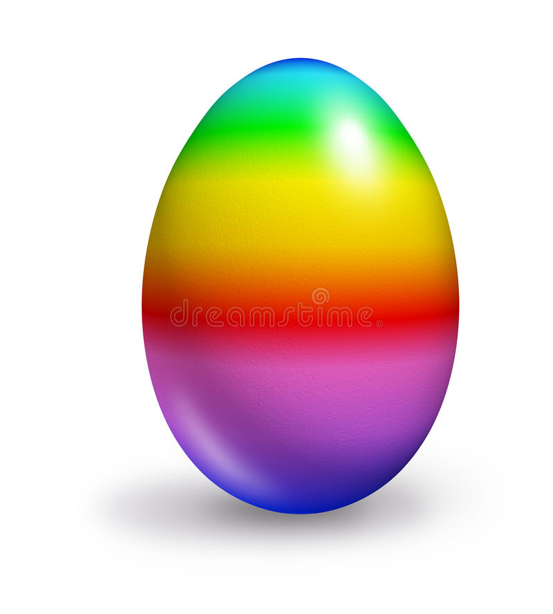 rainbow colored egg stock illustration illustration of free easter clipart religious free easter clipart and graphics