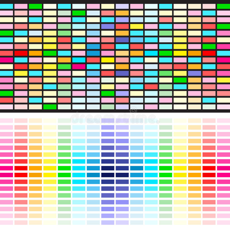 Download Rainbow colors background stock vector. Illustration of element - 18118791