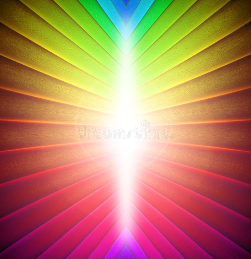 Rainbow colours background vector illustration