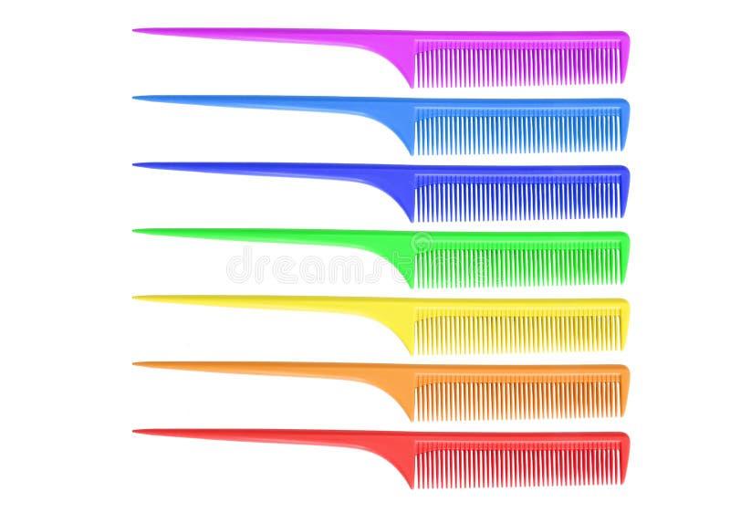 Rainbow Comb Royalty Free Stock Image