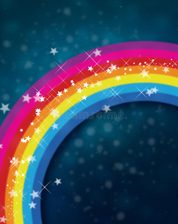 Rainbow Concept Royalty Free Stock Photography