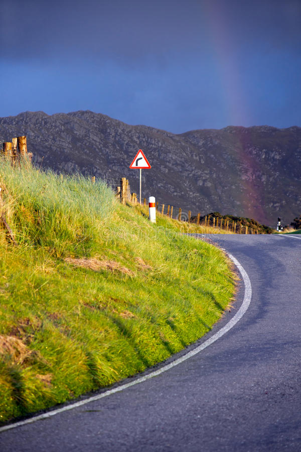 Download Rainbow After That Curve Royalty Free Stock Image - Image: 27357946