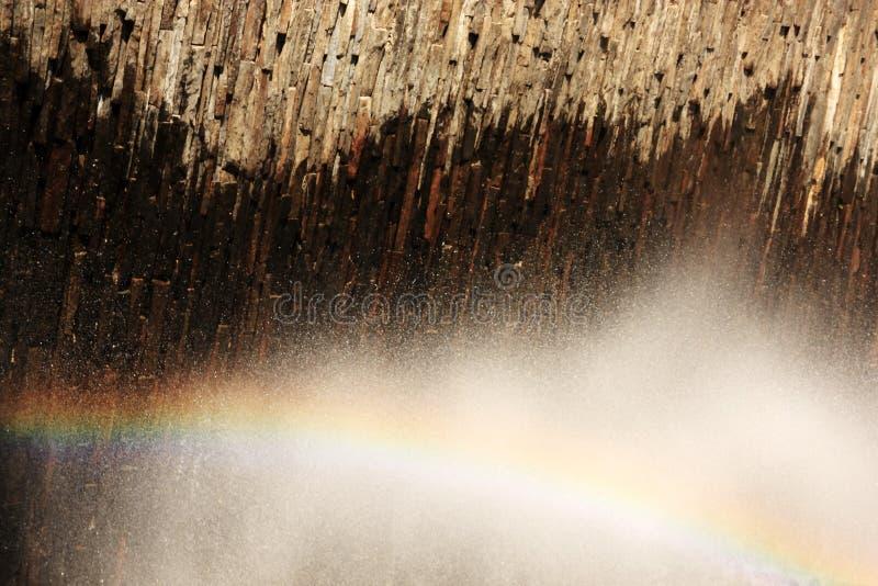 Rainbow dell'acqua fotografie stock libere da diritti