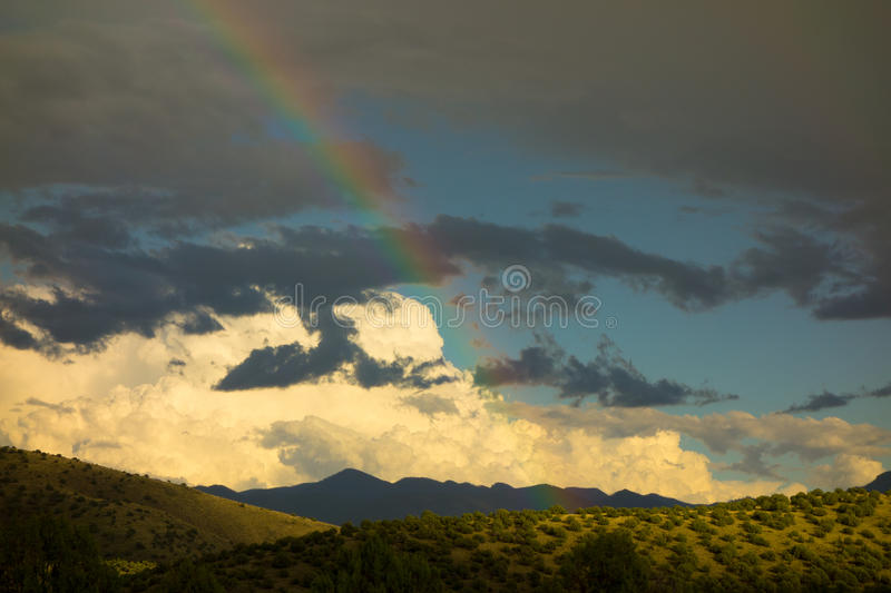 Download A Rainbow In The Desert Stock Photo - Image: 83716045