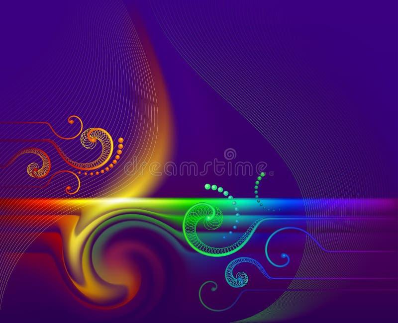 Download Rainbow_flame vector illustratie. Illustratie bestaande uit purper - 10778714