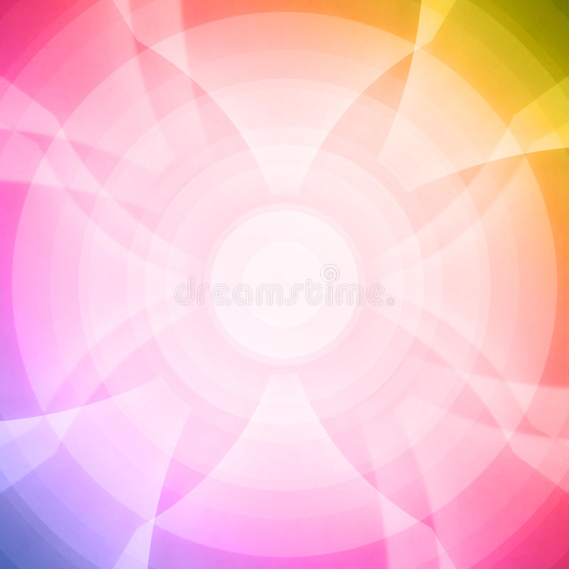 Rainbow Flower Seamless Pattern. Abstract Rainbow Color Flower Seamless Pattern royalty free stock images