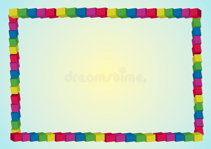 Download Rainbow frame stock illustration. Illustration of background - 26490384