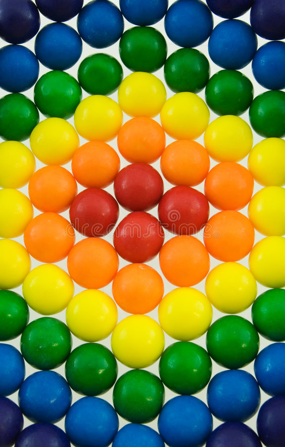 Download Rainbow Gumballs stock photo. Image of rainbow, blue, sweets - 7383070
