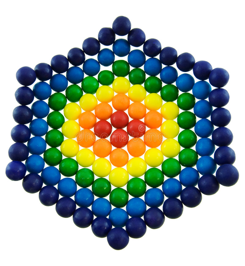 Download Rainbow Gumballs Royalty Free Stock Photo - Image: 7508855
