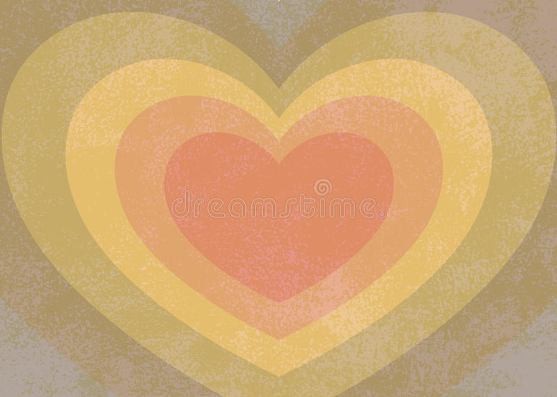 Rainbow Heart Royalty Free Stock Photography