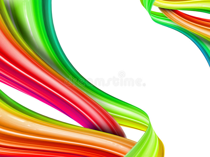 Download Rainbow Knot Royalty Free Stock Photos - Image: 22571058