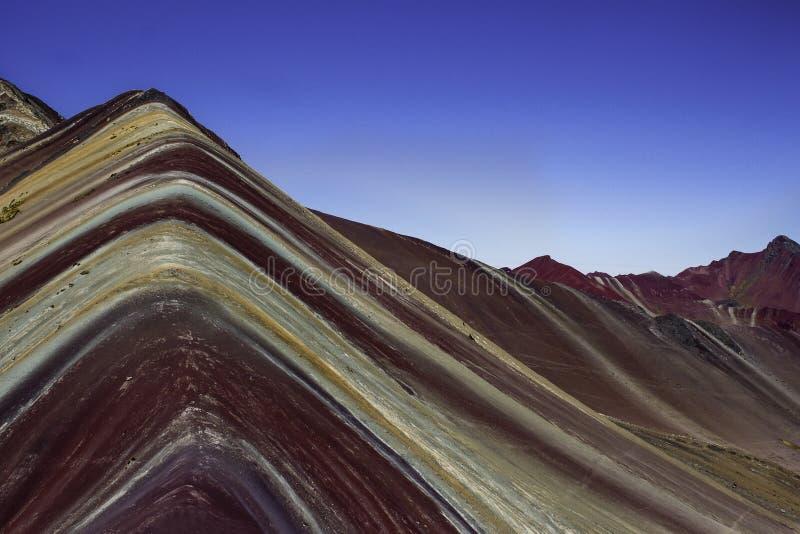 Rainbow Montain stock photo
