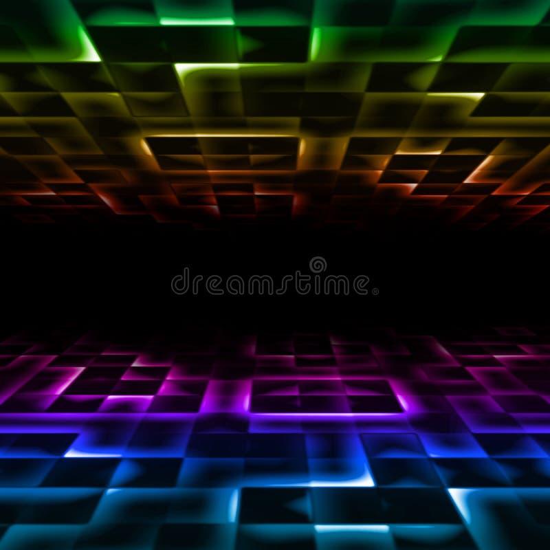 Download Rainbow mosaic stock illustration. Image of text, black - 23909034