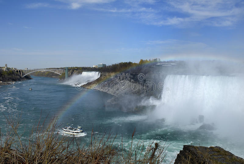 Download Rainbow Over Niagara Falls Royalty Free Stock Photography - Image: 17909777